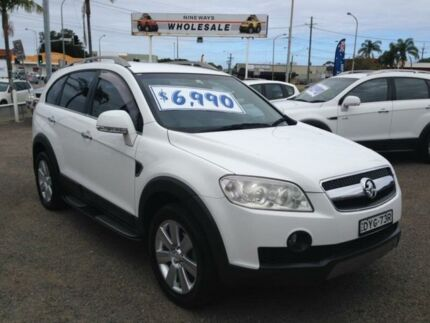 2008 Holden Captiva CG MY08 LX (4x4) White 5 Speed Automatic Wagon Broadmeadow Newcastle Area Preview