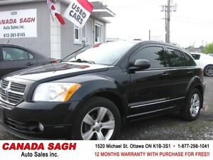 2010 DODGE CALIBER SXT AUTO/AC/ALL PWR, 12M.WRTY+SAFETY $5990