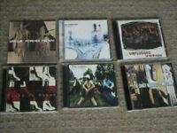 6 cds – Radiohead, Nirvana etc