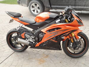 Mint Condition 2009 Yamaha YZF-R with Low Kilometres