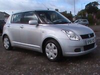 SUZUKI SWIFT 1.3 GL 5 DR SILVER 1 YRS MOT NEW FRONT DISCS/PADS FITTED,CLICK ON VIDEO LINK TO SEE CAR
