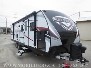 2018 FUN FINDER 28QD BUNK TRAILER FOR SALE* CLEARANCE PRICING
