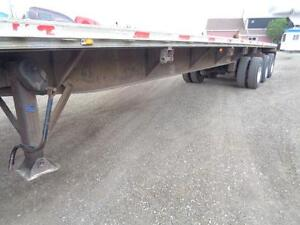 2000 FONTAINE 48 TRIDEM COMBO FLAT BED TRAILER Kitchener / Waterloo Kitchener Area image 10