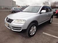 LHD 2003 Volkswagen Touareg V6 4x4 Automatic UK REGISTERED
