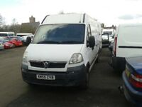Vauxhall Movano - Great price!!! - some work required - bargain with fully reconditioned engine