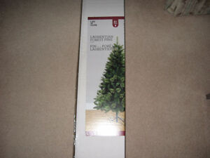 6 Foot Laurentian Forest Pine Christmas Tree For Sale!!!