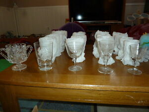 20 piece Crystal Ware Collection