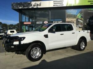 2016 Ford Ranger PX MkII MY17 XL 3.2 (4x4) White 6 Speed Automatic Crew Cab Utility Tuncurry Great Lakes Area Preview