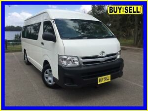 2011 Toyota Hiace TRH223R MY11 Upgrade Commuter White 4 Speed Automatic Bus Lansvale Liverpool Area Preview