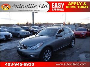 2010 INFINITI EX35 AWD Backup CAM Leather Sunroof P.Seat