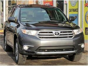 2012 Toyota Highlander/7 PASSENGER/LEATHER/SUNROOF