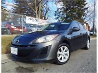 2010 MAZDA 3 SEDAN**AUTO WITH SPORT SHIFT**LOADED WITH FEATURES