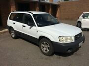 2003 Subaru Forester 79V MY04 X AWD White 4 Speed Automatic Wagon Christies Beach Morphett Vale Area Preview