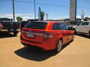 2009 Holden Commodore VE MY09.5 SS Sportwagon Orange 6 Speed Sports Automatic Wagon