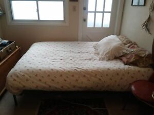 Ikea Full/Double Bed Frame + Slatted Bed Base