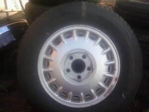 four/205/75/15 tires on gm rims