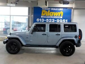 2012 Jeep Wrangler Unlimited UNLIMITED SAHARA ARCTIC EDITION