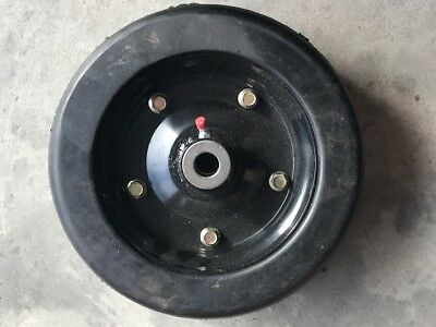 New Replacement Bush Hog Solid Finish Mower Wheel 10 X 3.25 Part Number 87750