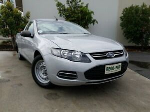 2013 Ford Falcon FG MkII EcoLPi Ute Super Cab Silver 6 Speed Sports Automatic Utility