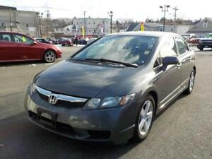 2010 HONDA CIVIC DX-G, AUTO, 135K, HOT DEAL  / CERTIFIED