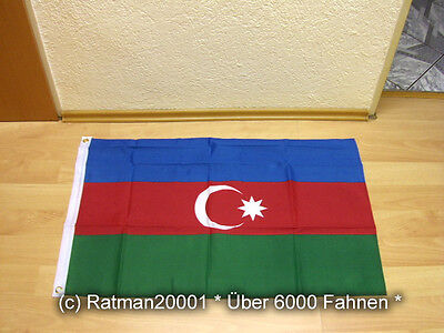 Fahnen Flagge Aserbaidschan - 60 x 90 cm