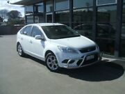 2011 Ford Focus LV Mk II LX White 4 Speed Sports Automatic Hatchback Invermay Launceston Area Preview