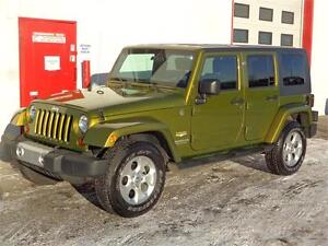 2008 Jeep Wrangler Sahara Unlimited ~ 55,000kms!! ~ $19,900