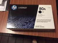 3x HP 80A ink cartridge