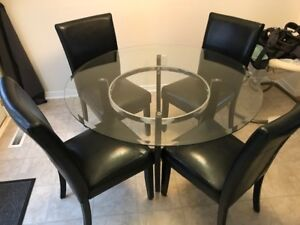 Matching Dining Room Set with Coffee Table and Side Tables