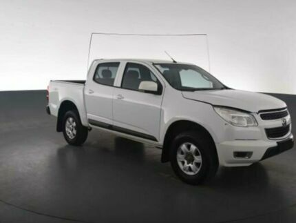 2015 Holden Colorado RG MY15 LT CREW CAB White Sports Automatic Dual Cab Utility Geebung Brisbane North East Preview
