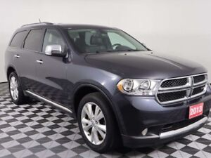 2013 Dodge Durango w/HEATED LEATHER, SUNROOF, DVD ENTERTAINMENT,