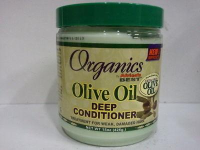 [AFRICA'S BEST] ORGANICS OLIVE OIL DEEP CONDITIONER FOR WEAK, DAMAGED HAIR