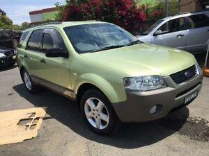 2004 Ford Territory SX TS (RWD) Green 4 Speed Auto Seq Sportshift Wagon Campbelltown Campbelltown Area Preview