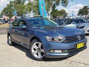 2016 Volkswagen Passat 3C (B8) MY17 132TSI DSG Blue 7 Speed Sports Automatic Dual Clutch Wagon Belconnen Belconnen Area Preview