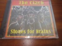 "The Clach - ""Stones for Brains"" CD - unused still in cellophane wrapper"