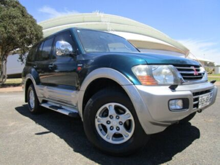 2001 Mitsubishi Pajero NM Exceed LWB (4x4) Forest Green 5 Speed Auto Sports Mode Wagon Gepps Cross Port Adelaide Area Preview