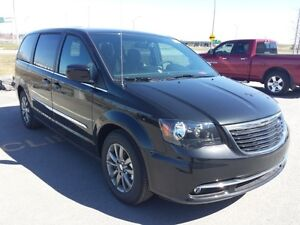 2016 Chrysler Town & Country S NOIR NAVIGATION CUIR CAMERA DE RE