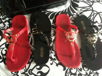 Michael Kors sandals red and black size 8 Longueuil / South Shore Greater Montréal Preview