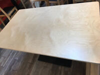 Solid Pine Wood table tap restaurant / cafe use