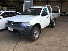2011 Mitsubishi Triton MN MY11 GL White 5 Speed Manual Cab Chassis Rocklea Brisbane South West Preview