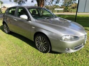 2010 Alfa Romeo 147 Silver 5 Speed Manual Hatchback Tuggerah Wyong Area Preview