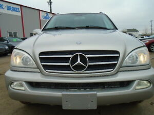 2003 Mercedes-Benz ML 500 LUXURY SPORT PKG-LEATHER-SUNROOF--NAVI