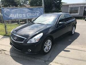 INFINITI G37X LUXURY AWD 2013 **$/SEM.**TOIT**CUIR**CAMERA***