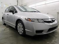 2011 Honda Civic VITRES ÉLECTRIQUE 86,000KM $6,995