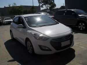 2014 Hyundai i30 GD MY14 Active White 6 Speed Automatic Hatchback Moorabbin Kingston Area Preview