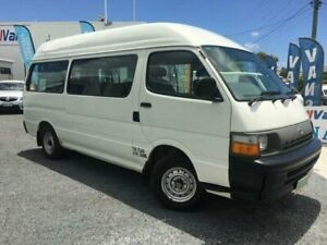 1998 Toyota HiAce LH125R Commuter White 5 Speed Manual Bus Currumbin Waters Gold Coast South Preview