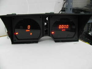 C3 Corvette 1978-1982 LED Digital Dash Gauge Instrument Cluster Direct Fit RED!