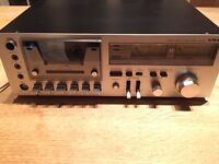 Aiwa Stereo cassette deck Model No. Ad-6550, Made in Japan