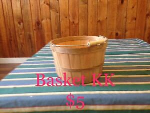 Various Wicker Baskets & Cases #6