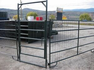 Light duty 50' Round Pen with Mesh